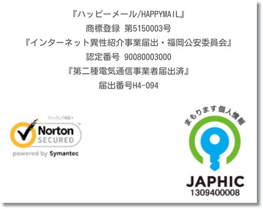 ハッピーメールインターネット異性紹介事業届・福岡公安委員会